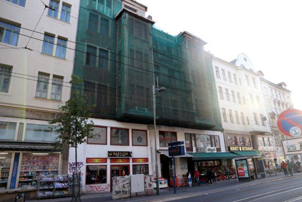Eisenbahnstraße 78 Vorderansicht. Foto: L-IZ.de
