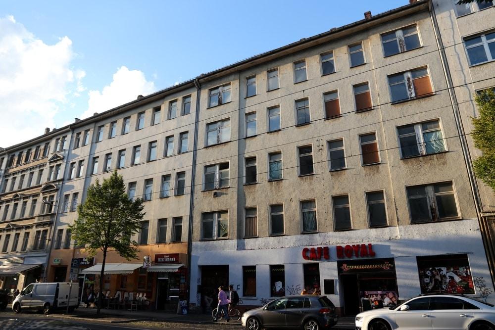 Eisenbahnstraße 95. Ein Doppelhaus. Foto: L-IZ.de
