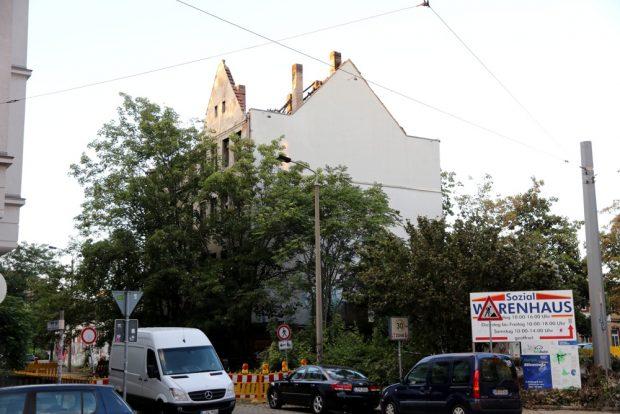 Eisenbahnstraße Ecke Bülowstraße. Foto: L-IZ.de