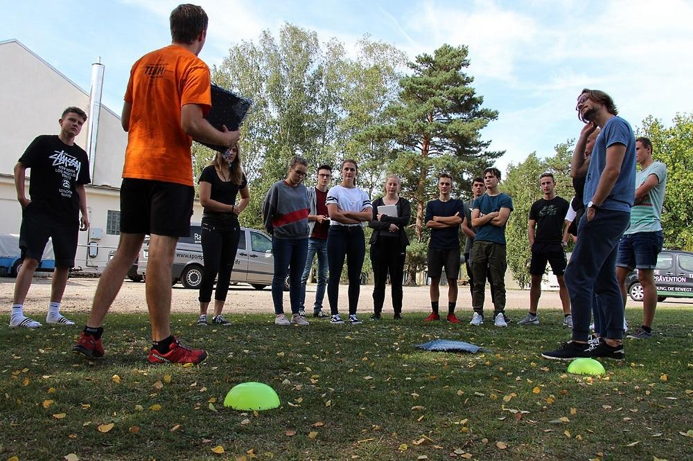 FSJ im Sport (Archivbild). Quelle: Landesportbund Sachsen