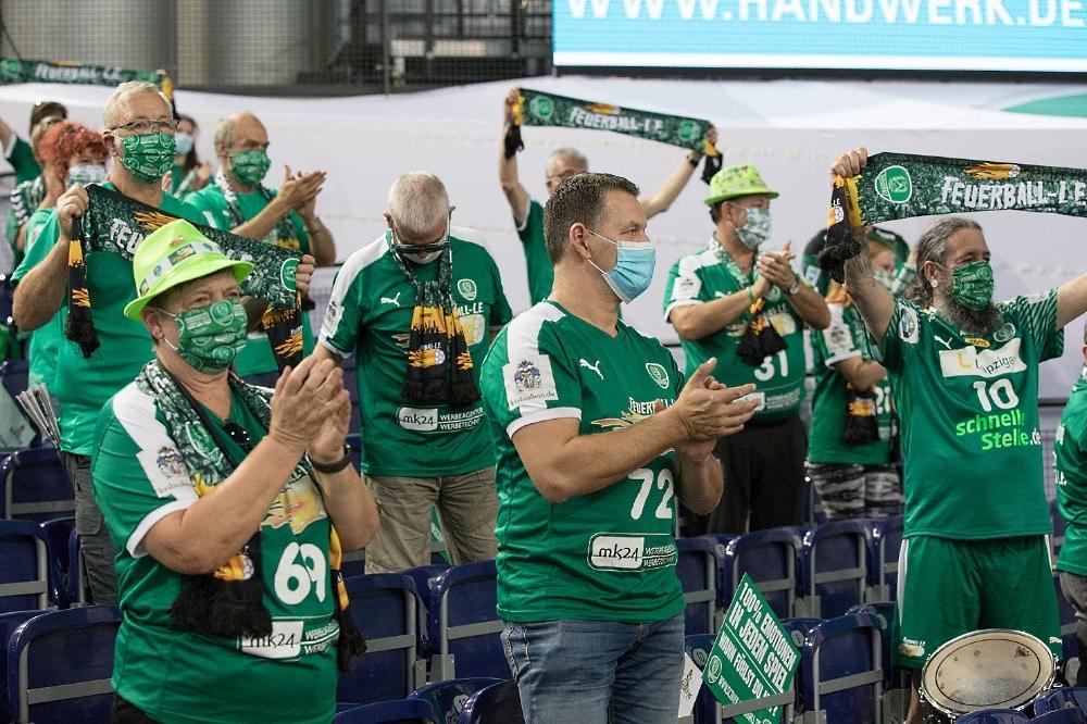 Leipziger Fans. Foto: Karsten Mann