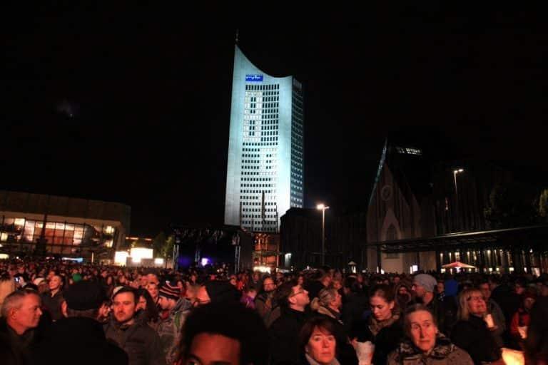 Auch in diesem Jahr wird das Leipziger Lichtfest stattfinden, allerdings unter Corona-Bedingungen. Foto: L-IZ.de