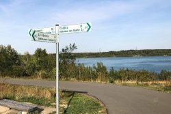Neue Radwegebeschilderung. Quelle: Stadtverwaltung Borna