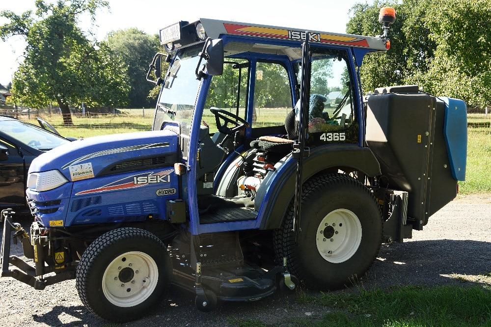 Neuer Kompakttraktor. Quelle: Stadtverwaltung Borna