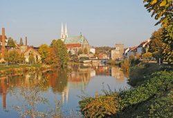 Der Oder-Neiße-Radweg führt durch die Europastadt Görlitz. Foto: Europastadt GörlitzZgorzelec GmbH