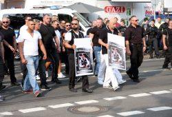 Demonstration nach dem tödlichen Rockerkrieg in Leipzig. Archivfoto: L-IZ.de