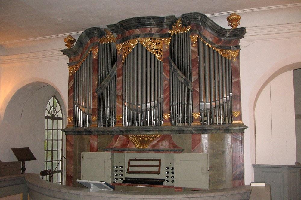 Störmthal, Kreuzkirche. Foto: Kirchgemeinde