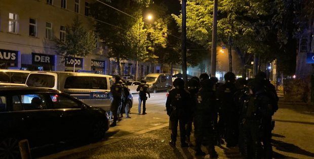 Polizeieinsatz in Connewitz am 4. Septembe, Foto: L-IZ.de