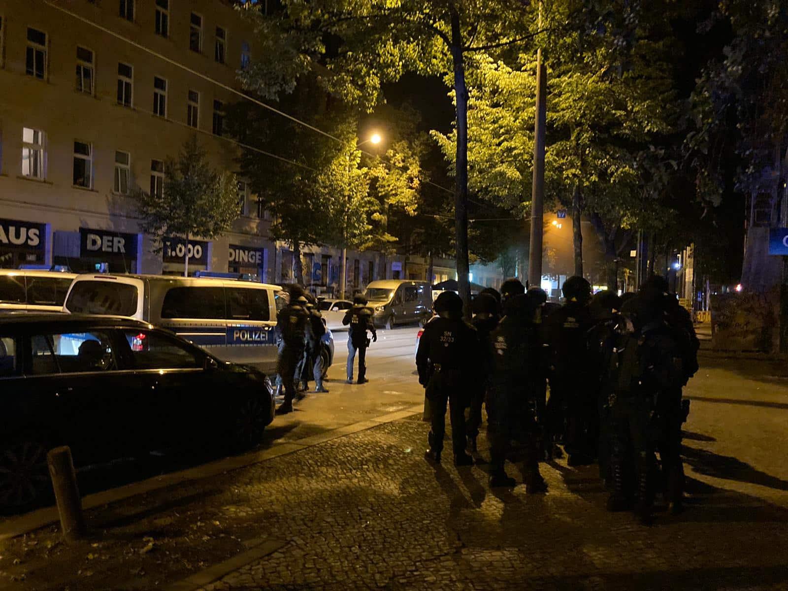 Polizeieinsatz in Connewitz am 4. Septembe, Foto: L-IZ.de