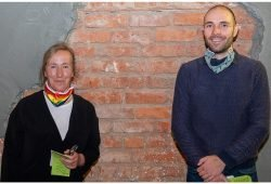 Ulrike Böhm und Matthias Jobke, Vorstandssprecher/-innen Grüne Leipzig. Foto: Henning Croissant
