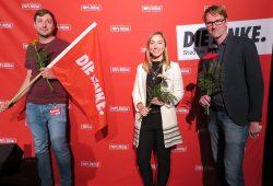 Vorsitzende Die Linke Leipzig. Quelle: Die Linke Leipzig