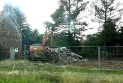 Abriss in Mühlrose. Foto: Alle Dörfer bleiben