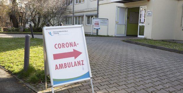 Corona-Ambulanz. Foto: L-IZ.de
