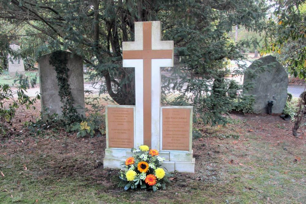 Der Grabstein für den Chirurgen Daniel Schmid. Foto: Paulinerverein