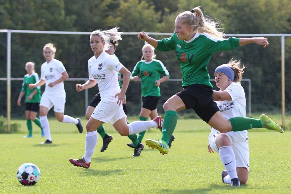 Die Frauen-Regionalliga Nordost ist mit einem neuen Modus in die Saison gegangen. Foto: Jan Kaefer