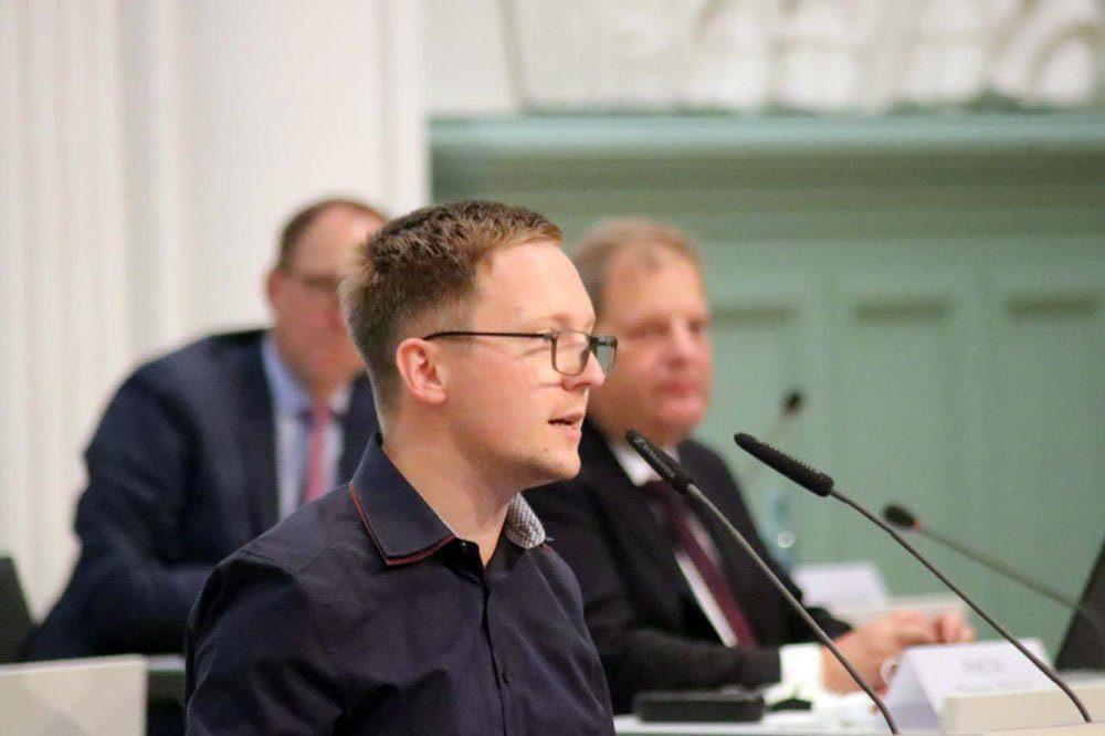 Oliver Gebhardt (Linke). Foto: LZ