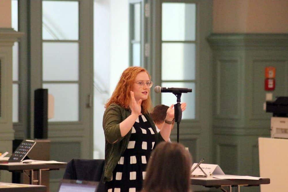 Annegret Janssen (Jugendparlament). Foto: LZ.de