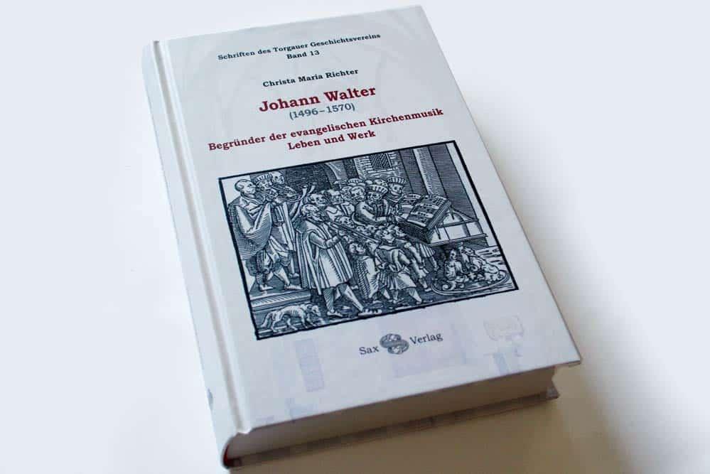 Christa Maria Richter: Johann Walter. Foto: Ralf Julke