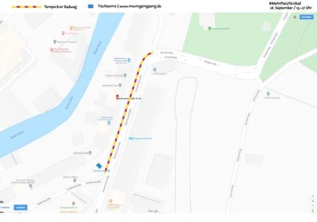 #MehrPlatzfürsRad am 18. September in der Könneritzstraße. Grafik: Thomas Puschmann