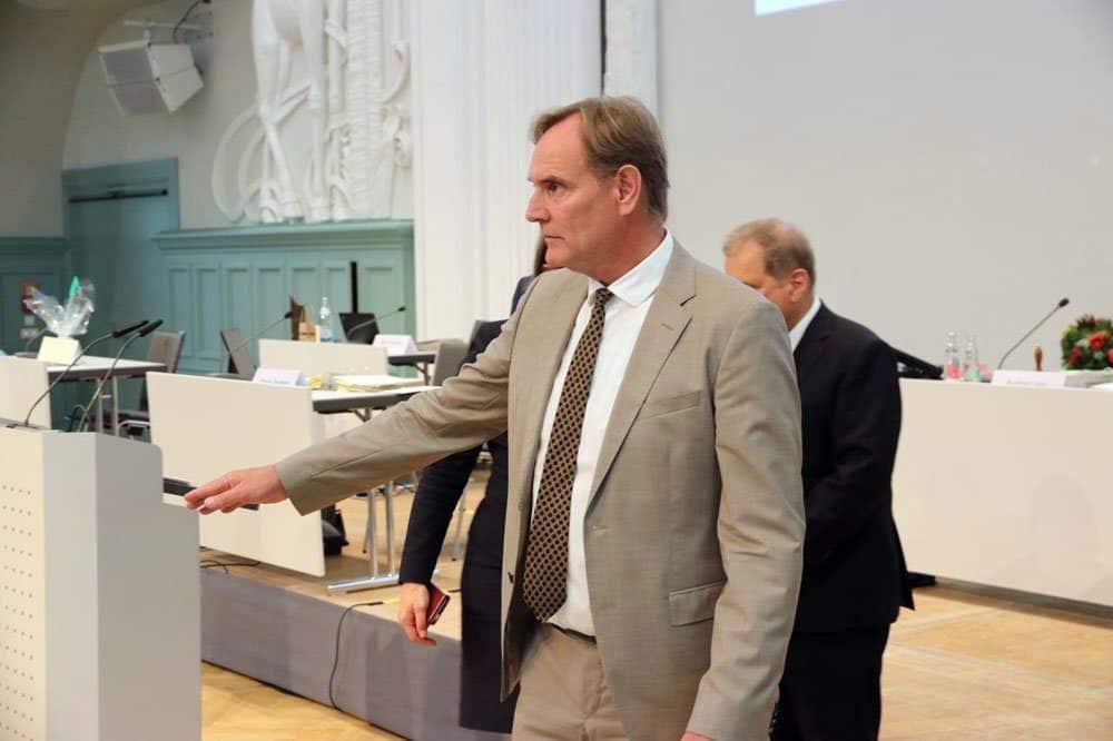 Oberbürgermeister Burkhard Jung. Foto: LZ