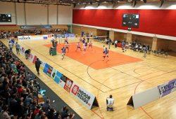 Die L.E. Volleys schlagen erst im Derby gegen Delitzsch in der heimischen Brüderhalle auf. Foto: Jan Kaefer