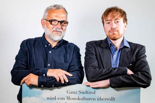 Alexander Schiebel und Karl Bär. Foto: Jörg Farys, Umweltinstitut München