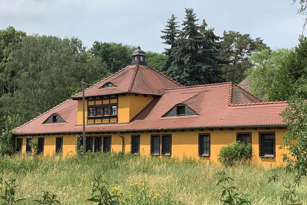 Denkmalgeschützter Gebäudebestand im Schlobachshof. Foto: Schlobachshof e.V.