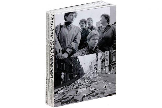 Das Jahr 1990 freilegen. Foto: Stiftung Buchkunst / CHOREO