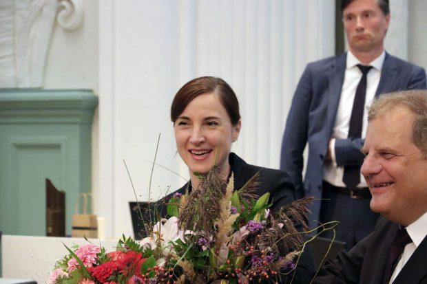 Mit 50 Ja-Stimmen gewählt: Vicki Felthaus. Foto: L-IZ.de