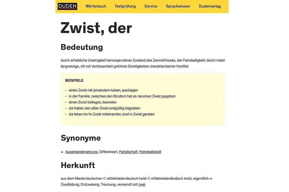 Screenshots: www.duden.de, Montage: LZ