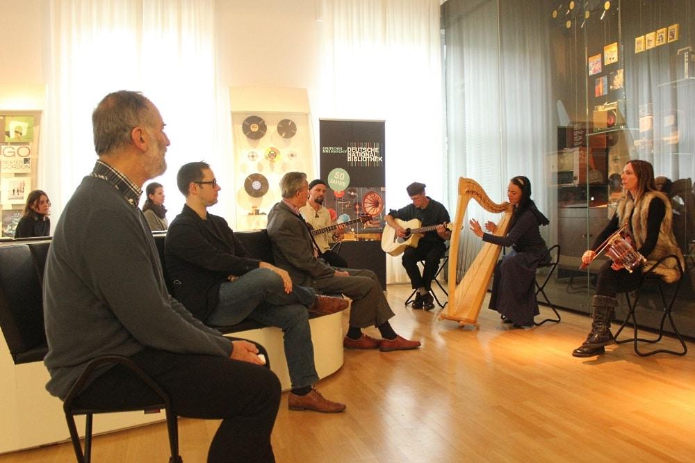 Probekonzert im Deutschen Musikarchiv. Foto: Elke Leinhoß