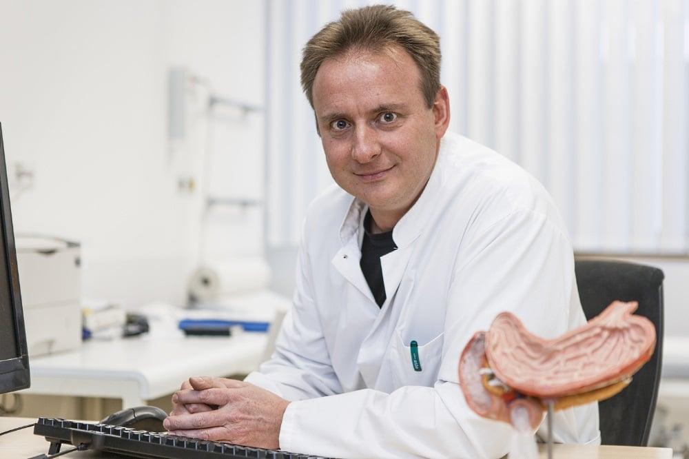 Adipositasforscher Prof. Dr. med. Matthias Blüher. Foto: Universität Leipzig, Fotograf: Christian Hüller