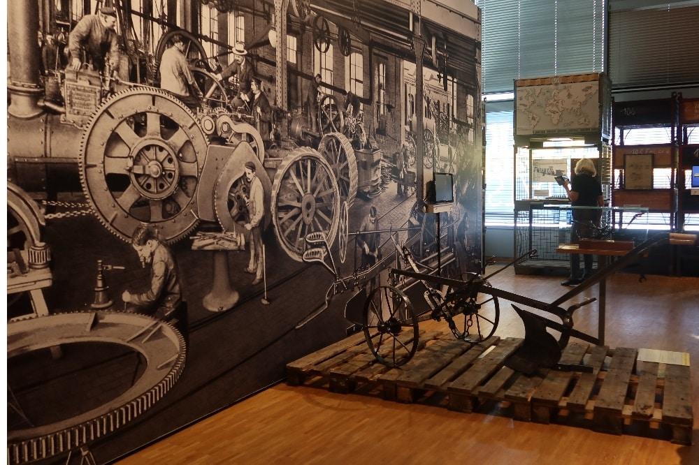 """Ausstellung """"WerkStadt Leipzig.200 Jahre im Takt der Maschinen"""" © SGM, Julia Liebetraut"""