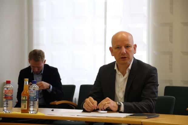 Oliver Decker, der Projektleiter des neuen Instituts. © Leonie Asendorpf