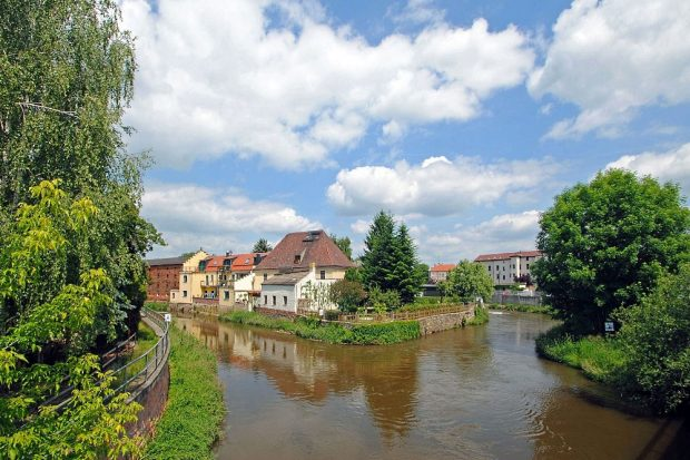 Eilenburg - Vereinigte Mulde. Foto: Andreas Schmidt