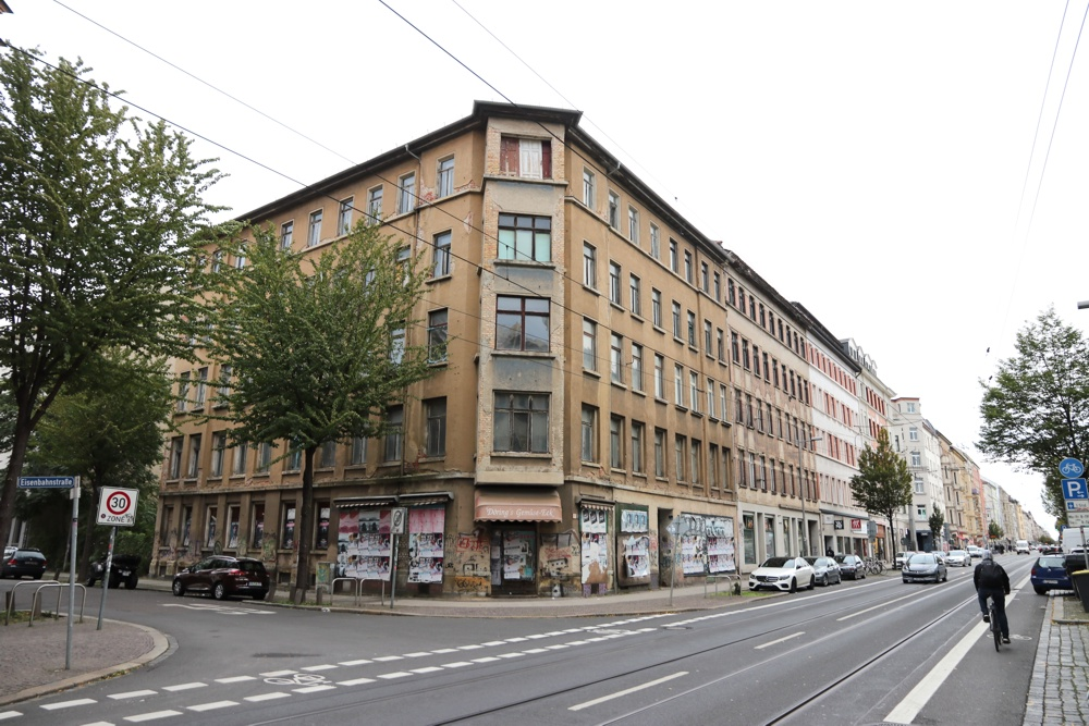 Eisenbahnstraße 19 (Ecke Bussestraße). Foto: L-IZ.de