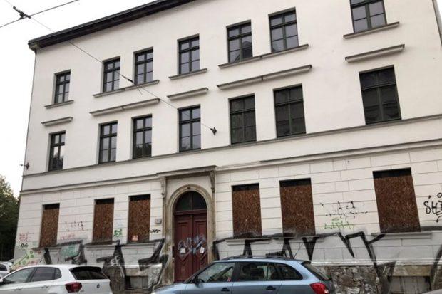 Fregestraße 1. Foto: Privat