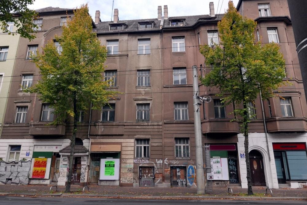 Gorkistraße 74,76 und 78 LWB. Foto: Privat