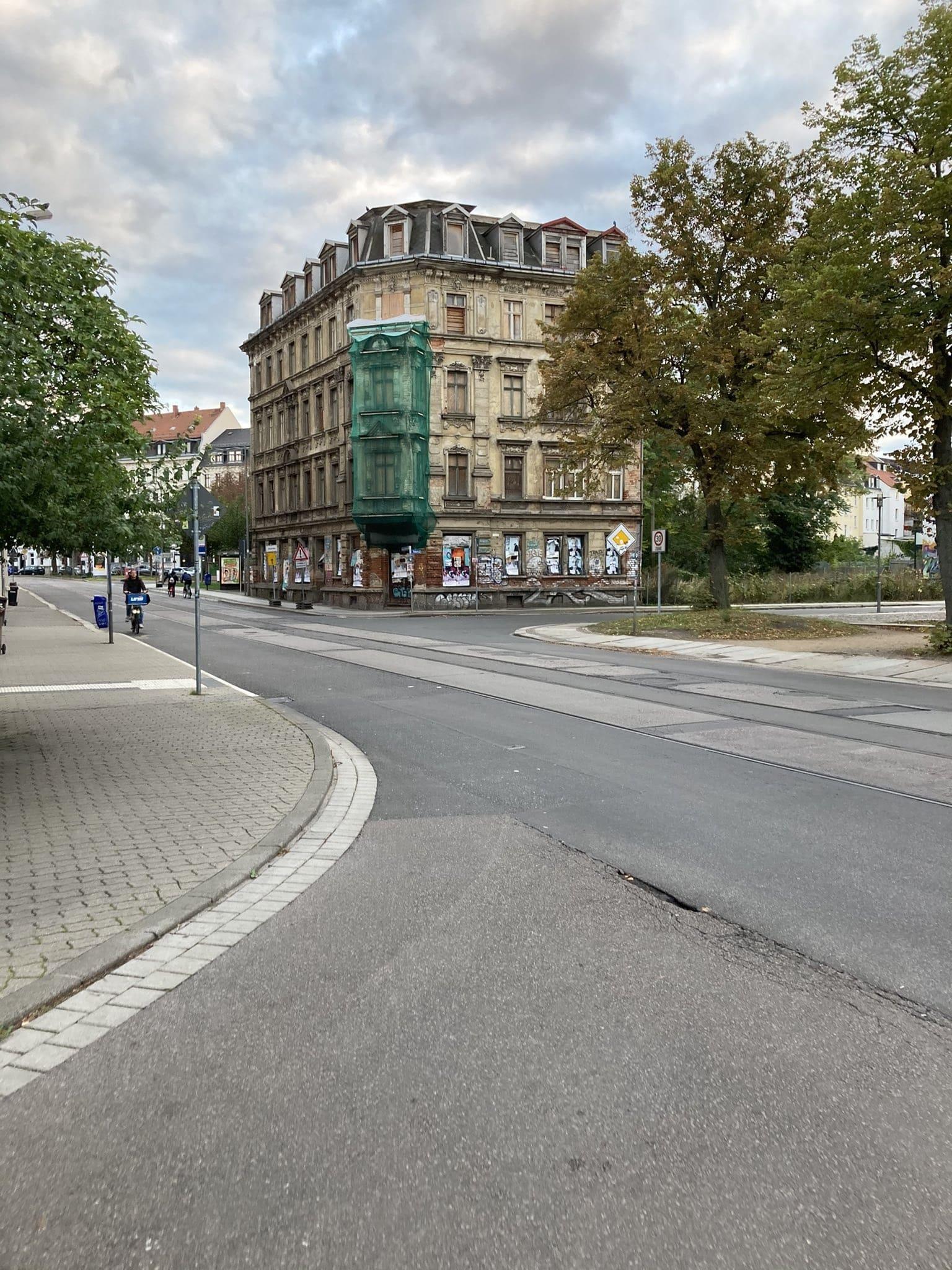 Hermann-Liebmann-Straße, Ecke Rabet. Foto: Privat