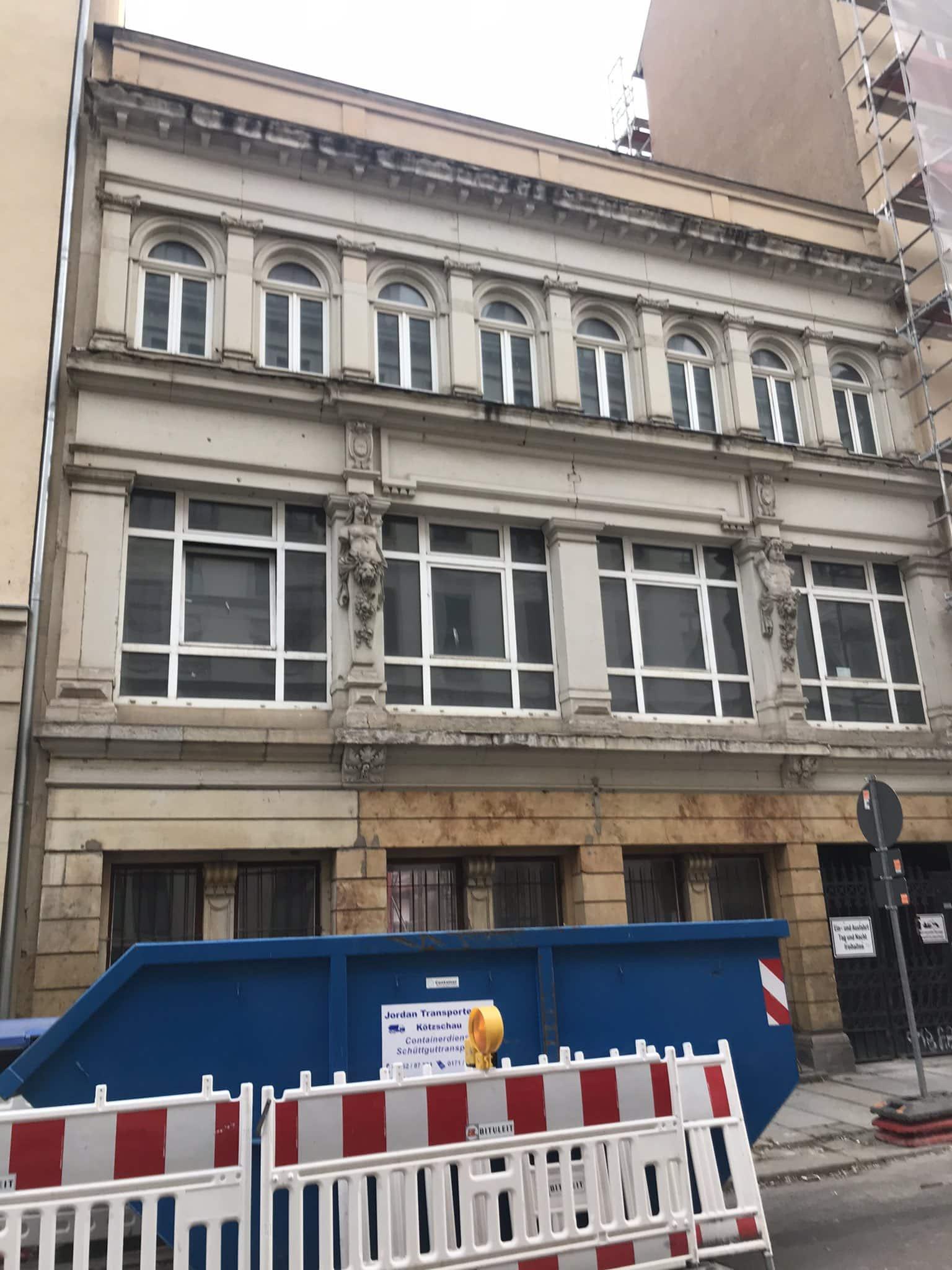 Humboldtstraße, ein Haus zwischen der Humboldtstraße 14 und der Pfaffendorfer Straße 12. Foto: Privat