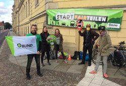 Der BUND Leipzig beim Klimastreik am 25. September. Foto: L-IZ.de