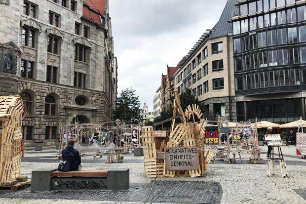 Das Labylysium auf dem Burgplatz in der Innenstadt. Foto: L-IZ