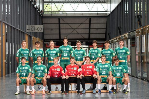 Mannschaftsfoto A-Jugend. Quelle: Fotohaus Klinger