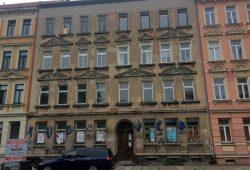 Merseburgerstr 136, evtl 1 oder 2 Wohnung bewohnt (steht was am Fenster). Foto: Privat