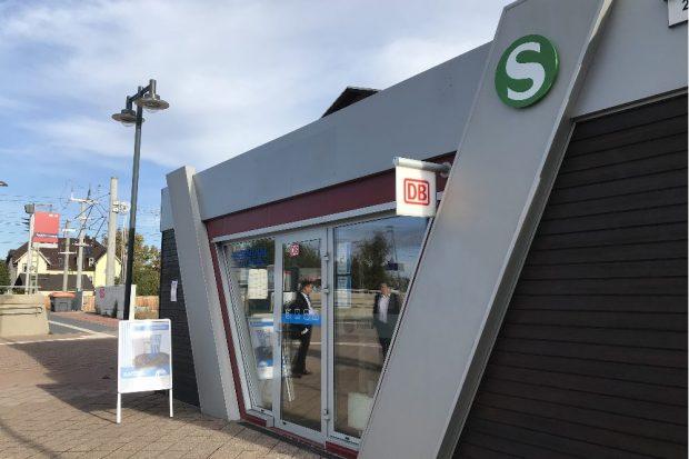 Neuer S-Punkt am Bahnhof Taucha. Foto: Deutsche Bahn AG / Susan Constantinescu