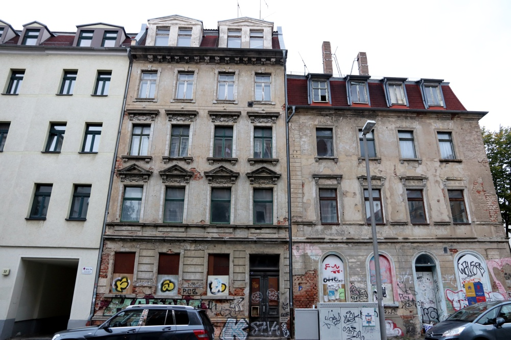 Neustädter Straße 30 und 28. Foto: L-IZ.de