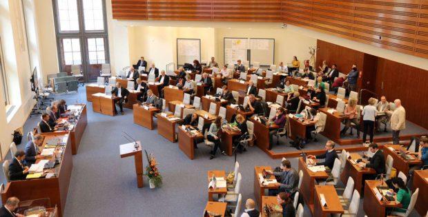 Der Stadtrat tagt im Neuen Rathaus. Foto: L-IZ.de