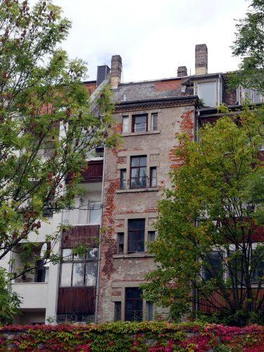 Torgauer Straße 60 Hinterseite. Foto: Privat