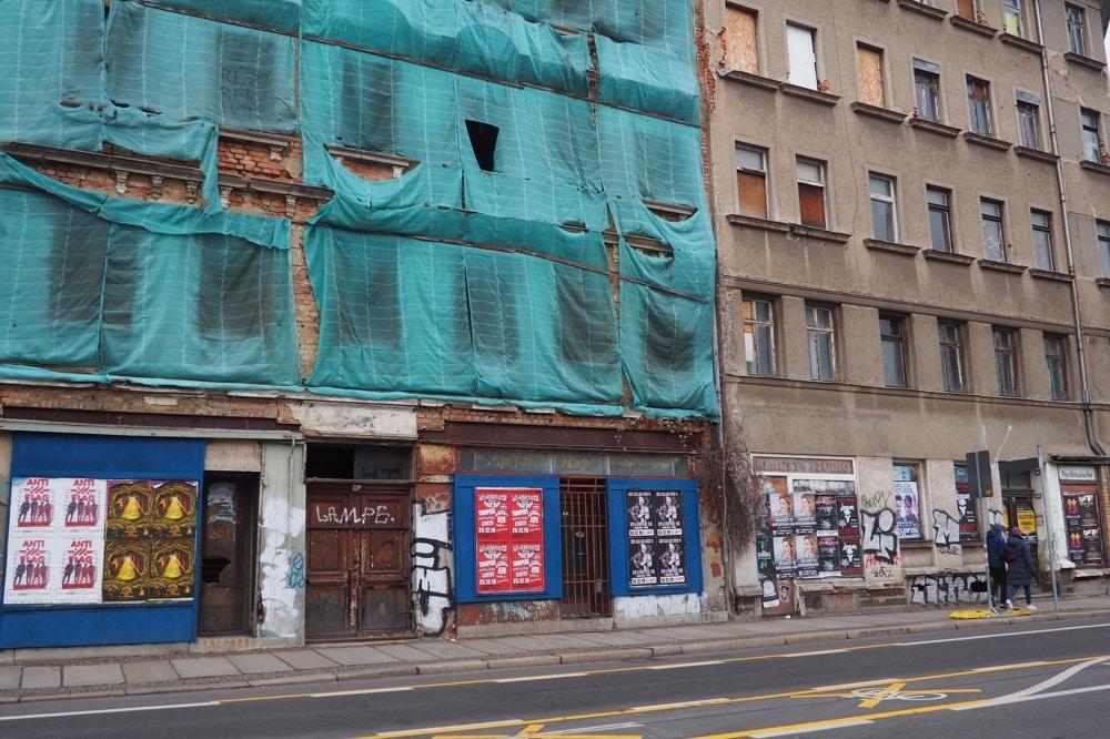 Zweinaundorfer Straße, Ecke Wichernstraße. Foto: Privat