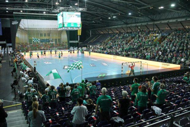 Zum Bundesliga-Auftakt der SC DHfK-Handballer kamen 1.917 Zuschauer in die Arena Leipzig. Foto: Jan Kaefer